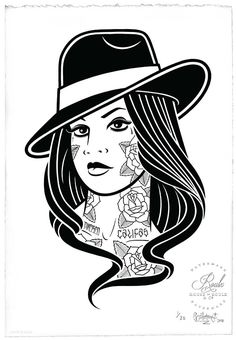 """""""Chola"""" by Mike Giant - Limited Edition, Archival Print"""
