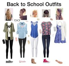 """Back to School Outfits"" by becreative101 ❤ liked on Polyvore"