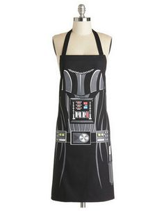 #StarWars #Darth #Vader Apron!  Eat your broccoli or I'll use the death grip!!