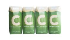 C Coconut Water on Packaging of the World - Creative Package Design Gallery