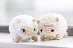 Fluufie le mouton patron crochet amigurumi gratuit français (free french pattern sheep)