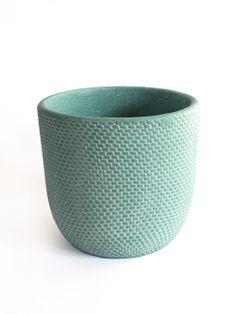 Tweed Pot - Turquiose | Hello Polly $19 each