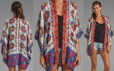 anna sui daisy chain scarf print jacquard kimono 2-horz