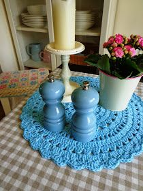 Mé malé radosti: Háčkovaná dečka Crochet Mandala, Candle Holders, Candles, Rugs, Home Decor, Farmhouse Rugs, Homemade Home Decor, Types Of Rugs, Candy