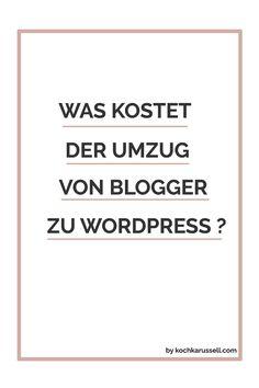 Vor dem Umzug von Blogger zu WordPress wollte ich haargenau wissen, ob sich der Wechsel lohnt und mit welchen Kosten ich rechnen muss. Damit ihr nicht so lange stöbern müsst wie ich, verrate ich euch heute, wieso ich umgezogen bin und welche Kosten auf euch zukommen. Auf geht's! Warum möchtest du umziehen? Ihr seid es leid, dass...Read More »