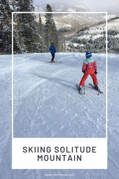 Planning a family ski trip to Solitude Mountain. #ski #skiing #travel Best Places To Travel, Cool Places To Visit, Family Ski, Cottonwood Canyon, Fleet Street, Ski Gear, Top Destinations, Good Parenting, Solitude