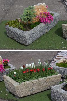 Koryta z přírodního kamene vhodné k osázení na zahrady Stepping Stones, Outdoor Decor, Plants, Home Decor, Room Decor, Home Interior Design, Plant, Planting, Planets