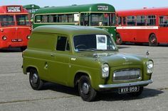 CCMV Classic Commercial Motor Vehicles | Ford Thames 100E & 300E. London Transport service van 1096F