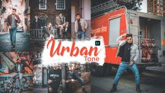 Lightroom URBAN Tone color grading tutorial - urban dark & orange tone with lightroom mobile - NSB - Tutorial Photoshop cc Blur Background In Photoshop, Studio Background Images, Black Background Images, Black Backgrounds, Lightroom Presets, Color Pop, Photo Editing, Urban, Pictures