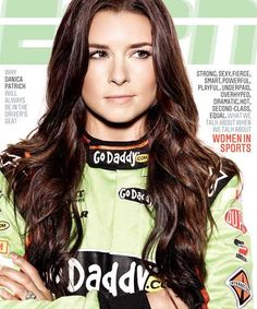 Danica Patrick Covers ESPN Magazine