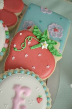 Birthday Party Ideas - Blog - (SWEET & SHABBY CHIC) STRAWBERRY PATCH BIRTHDAY PARTYIDEAS