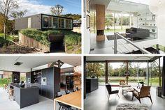 Stunning Home with Preserved Dune Landscape of Villa V in The Netherlands | Home Design Lover