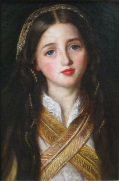 Portrait of Alice Gray by John Everett Millais Getty... Pre-Raphaelite art
