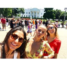"Grace Kelly's granddaughter and fashion designer Pauline Ducruet took in the sites during a visit to Washington, D.C. The Monaco royal brought along two friends and snapped a photo in front of the White House with the caption, ""Takin' over #GirlPower #ToutPetitVuDici #mypalaceisbiggerthanyours"""