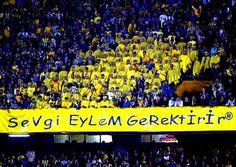 OĞUZ TOPOĞLU : sevgi eylem gerektirir düşünmeyi işaret eden fener... 4k Hd, Derby, Football, Fans, Sports, Movie Posters, Movies, Istanbul, Android