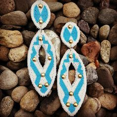 Latonia Andy - Beadwork - Native American Art - Beaded Earrings - Yakama