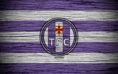 Download wallpapers Toulouse, 4k, France, Liga 1, wooden texture, Toulouse FC, Ligue 1, soccer, football club, FC Toulouse