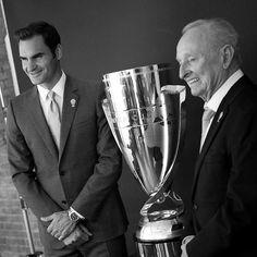 Legends  @LaverCup #RogerFederer #RodLaver