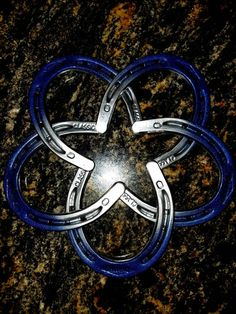 Dallas Cowboys type Star in Horseshoes
