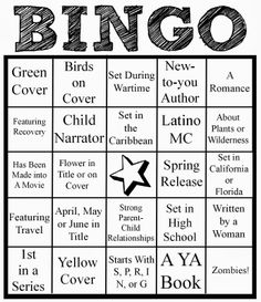 Bookish Bingo [April 1 - June 30, 2014 | Sign-ups close April 9, 2014]