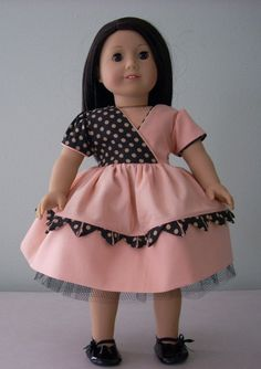 American Girl /18 Doll Dress by JRfashiondesign on Etsy                                                                                                                                                                                 More