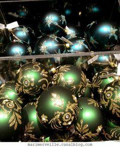 Décoration arbre de Noël chateau enchanté16 - marimerveille