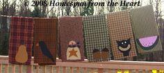 PatternMart.com ::. PatternMart: The Tea Towels Applique Pattern 3 PM