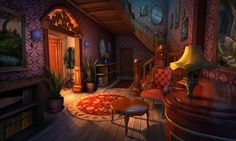 fantasy anime background interior concept episode drawing backgrounds scenery landscape environment places