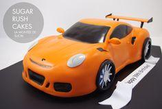 Porsche 911 Gt3 Cake