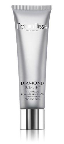 """3.5 oz Diamond Ice-Lift Transepidermal DNA Cryo Mask by Natura Bisse. $155.00. 100ml/3.5oz. Natura Bisse - Diamond Ice-Lift DNA Cryo-Mask  Pamper your skin with diamonds-a unique, luxurious approach to anti-aging from Natura Bisse. Multi-faceted, luxury peel-off mask with an exclusive Ice Lift system. Instantly provides a long-lasting cosmetic """"face-lift"""" with an intense cooling sensation. Immediately tightens and lifts while redefining facial contours. High concentrations of ..."""