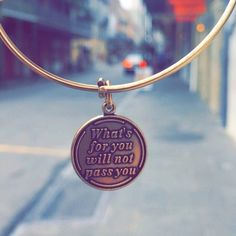 ALEX AND ANI WHAT'S FOR YOU WILL NOT PASS YOU BANGLE!