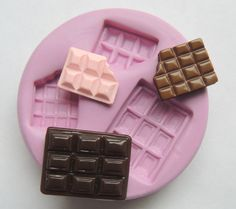 Please check size first. These are flexible silicone molds. No mold release necessary.  You can make resin pieces and paint with acrylic paints after curing.  You can make scented wax melts  Or soap embeds for inclusion in or on top of a larger bar of soap for decoration  Or these work great with polymer clay for cute little charms or pendants!  Please see my blog for more ideas! Also ALL my molds are FDA food grade certified…