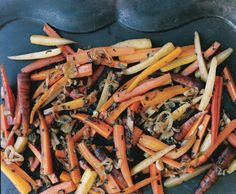 Carrots with Shallots, Sage, and Thyme