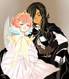 The Princess and the Knight by pekobukis
