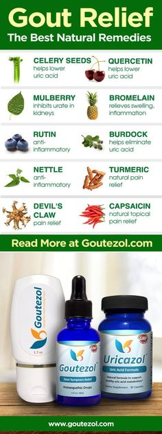 The Best Remedies for Gout