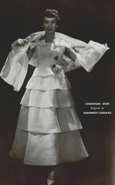 Fashion by Christian Dior, 1955