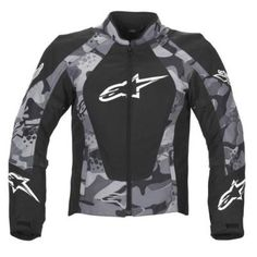 Alpinestars Womens Stella Sniper Jackets - Black Large - Textile Jacket - New
