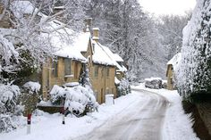 Broad Campden, Cotswolds, Gloucestershire, England by Betty Stocker