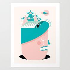 Day Dreamer Art Print by Andrew Groves - $24.96