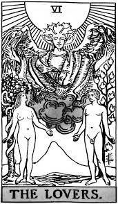 Image result for the lovers tarot