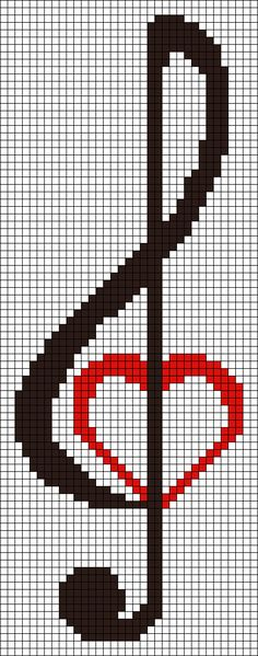 There are a lot of cross stitch alphabet patterns exist. These free pattern options hopefully will help you in your letter stitching project. Cross Stitch Music, Cross Stitch Bookmarks, Counted Cross Stitch Patterns, Cross Stitch Designs, Cross Stitch Embroidery, Embroidery Patterns, Hand Embroidery, Loom Bands, Bead Loom Patterns