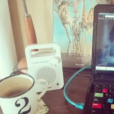 #Coffee  #music  a nice desk and #greatdesign is all you need to get to #work.  #ganbatte this #tuesday #japan !