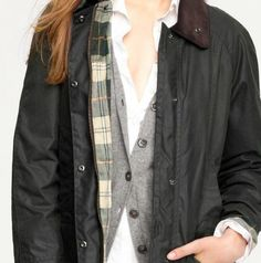I want a Barbour jacket!