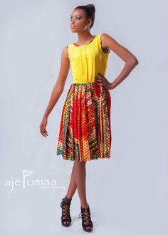 FashionistaGH - The premier source for Ghanaian Fashion and Lifestyle: Ajepomaa Design Gallery ~African fashion, Ankara, kitenge, African women dresses, African prints, African men's fashion, Nigerian style, Ghanaian fashion ~DKK
