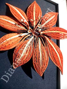 Quilling Diana!