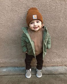JOURNEYS KIDZ | Vans Slip On Checkerboard  --  photo credit: @lifewithelijahh #vans #slipsons #chex Cute Baby Boy Outfits, Little Boy Outfits, Toddler Boy Outfits, Cute Baby Clothes, Toddler Boys, Newborn Boy Outfits, Little Boy Clothing, Little Boy Style, Toddler Boy Style