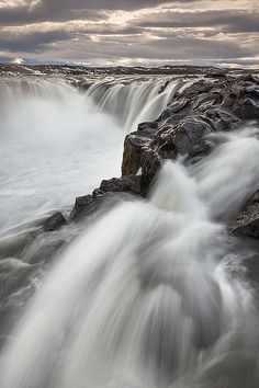 Selfoss Waterfall, Iceland, by Joerg Bonner