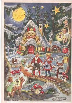 Alte Weihnachtskalender.1970s 80s German Ebay German Advent Calendars Adventskalender
