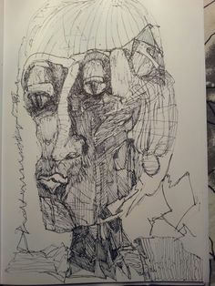 Drawing by Anne Marie Tangen Make room for me