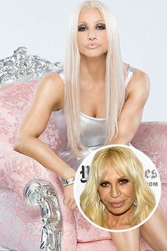 147 Best Donatella Versace Images Donatella Versace
